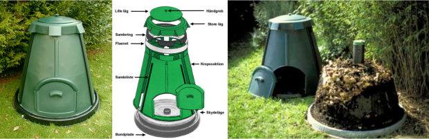 Kompostbeholder silvan